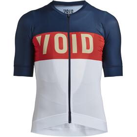 VOID Fusion Kurzarm Trikot Herren blau/weiß